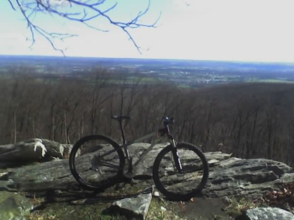 My Bike on a Friday Hookie Ride atGambril