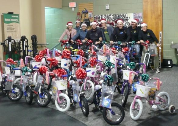 The Bike Lane's Santa Crew