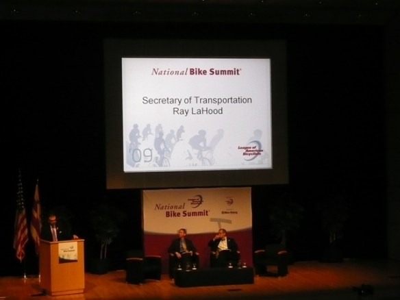 Secretary of Transportation opening remarks at the National Bike Summit