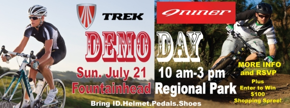 The Bike Lane Trek/Niner Demo Day