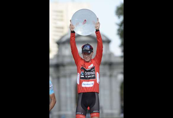 Chris Horner wins the Vuelta