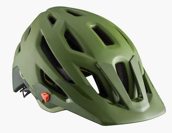 Olive Green Bontrager Rally MipsBike Helmet