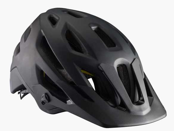 Black Bontrager Rally MIps Mountain Helmet